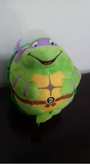 Pelúcia Ty Beanie Ballz - Donatello - Tartarugas Ninjas