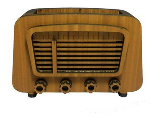 Radio Decorativo Amarelo