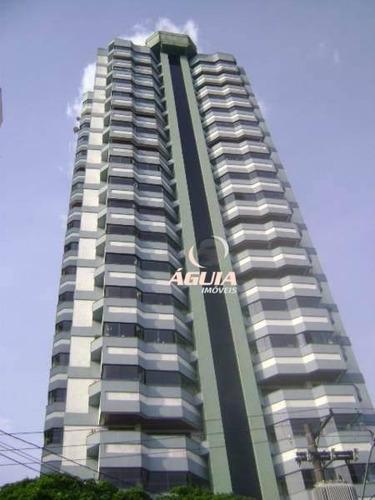 Apartamento Com 3 Dormitórios À Venda, 149 M² Por R$ 690.000,00 - Vila Curuçá - Santo André/sp - Ap2224