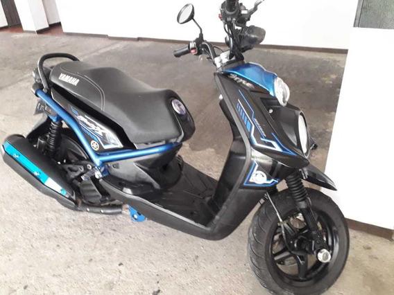Yamaha Bwis X Azul - Negro