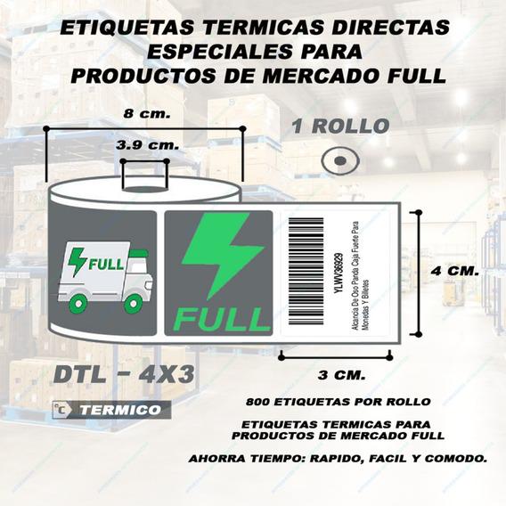 Etiquetas Térmicas Para Productos Full Bodega Mercado Libre