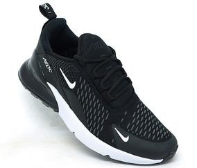 Tênis Nike Air Max 270 Preto E Branco Novo