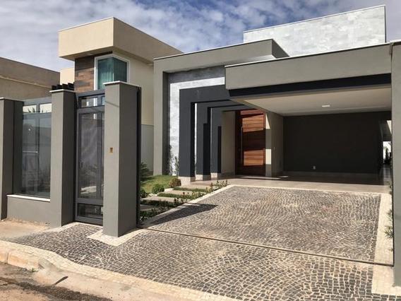 Casa Moderna Com 4 Quartos C/ Suites
