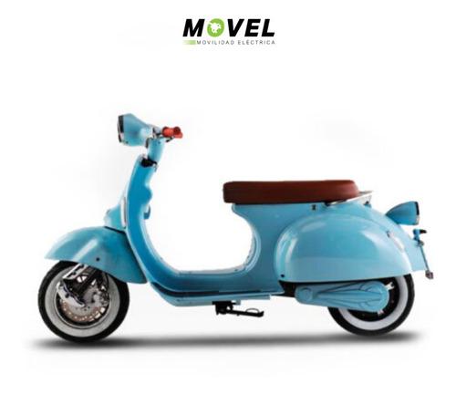 Moto Eléctrica Vintage 3000w Batería Gel Opción Litio Sunra