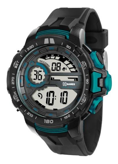 Relógio Masculino Xgames Xmppd375 Bxpx Cinza/verde Orient