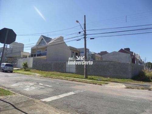 Imagem 1 de 10 de Terreno À Venda, 441 M² Por R$ 638.000,00 - Novo Mundo - Curitiba/pr - Te0065