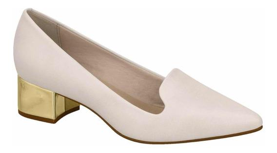 Zapatos Mujer Stilettos Taco Dorado Ancho Bajo 4182.101