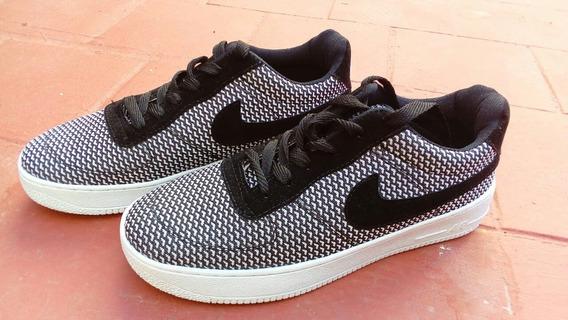 Zapatillas Nike Copia Blancas Y Negras