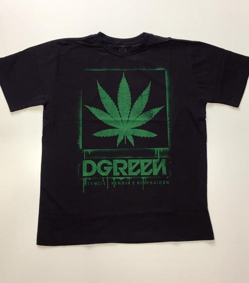 Camiseta Chronic Dgreen Legalize Skull Original