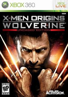 Xmen Origins Wolverine Xbox 360