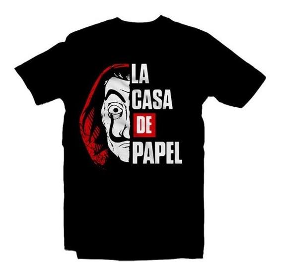 Playeras La Casa De Papel - 15 Diseños Disponibles