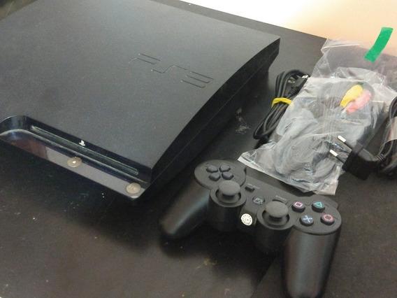 Playstation 3 Ps3 500gb Destravado 20 Jogos 2 Controles