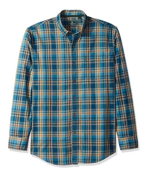 G.h. Bass & Co. Camisa A Cuadros Legion Blue