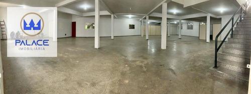 Salão Para Alugar, 433 M² Por R$ 7.000/mês - Dois Córregos - Piracicaba/sp - Sl0171