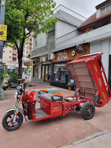 Tricargo Electrico Utilitario No Zmax Motocargo Cajavolcador