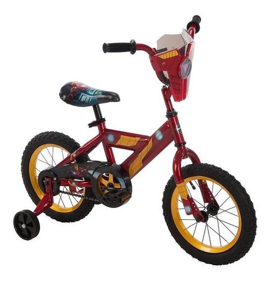 Bicicleta De Niños Huffy Marvel Avengers Iron Man Rodada 12