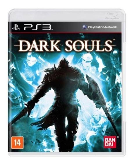 Jogo Novo Mídia Física Dark Souls Para Ps3 Playstation 3