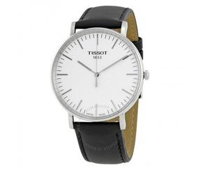Relógio Tissot Masculino Tclassic Everytime Couro/preto/prat