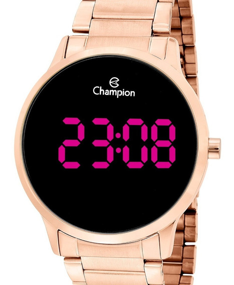 Relógio Champion Feminino Digital Rose Gold