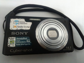 Câmera Digital Sony 14.1 Mega Pixels 4gb
