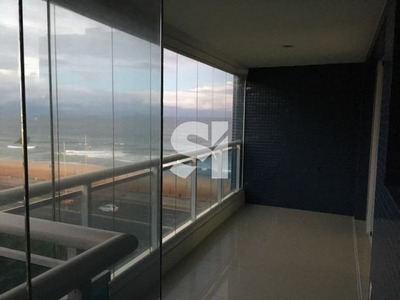 Excelente Apartamento Mobiliado Quarto Sala Com 56,00 M² Vista Mar - Fs0200