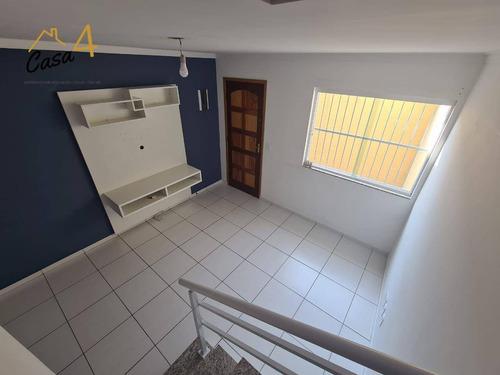 Sobrado Em Condomínio Fechado Com 2 Dormitórios À Venda Por R$ 240.000 - Vila Ponte Rasa - São Paulo/sp - So0583