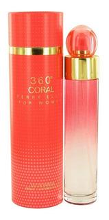 360 Coral Dama Perry Ellis 200 Ml Edp Spray - Original