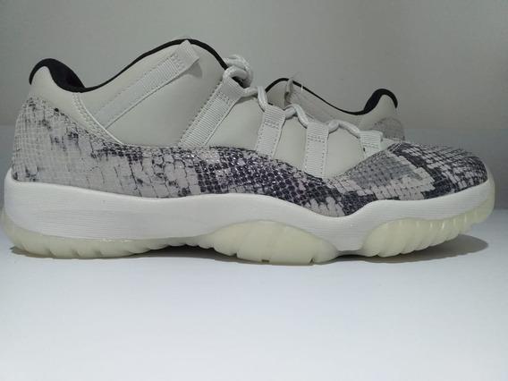 Tênis Nike Air Jordan 11 Retro Low Le Snake Ligth Bone C/ Nf