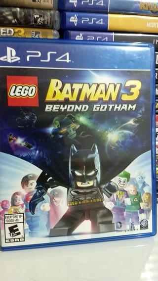 Jogo Ps4 Lego Batman 3: Beyond Gotham Mídia Física