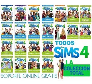 Sims 4 Coleccion Completa Ultima Actualización