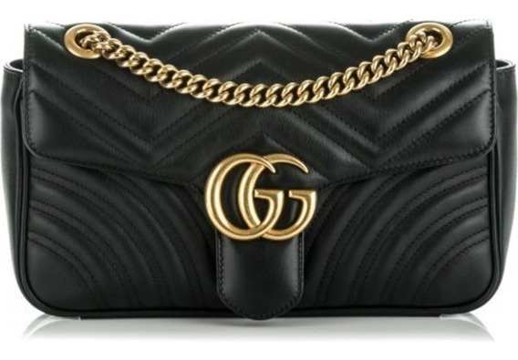 Bolsa Gucci Marmont Gg Nude Couro Legitimo C/ Código
