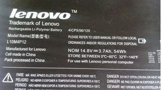 Bateria Lenovo U300s Fotos Reales Mercadopago Mercado Envios