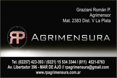 Agrimensor, Servicios Integrales De Agrimensura Y Topografia