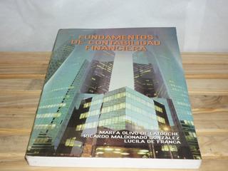 Libro Fundamentos De Contabilidad Financiera ** Poco Uso ***