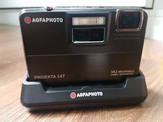 Agfa Photo Camera Projekta 147 Com Acessorios