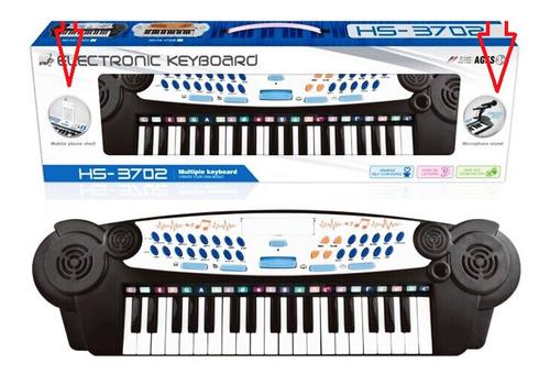 Organo Piano Musical Con Mic Y Coneccion Celular 60 Cm St