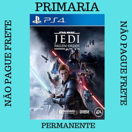 Star Wars Jedi: Fallen Order Ps4 Psn 1 Play 4