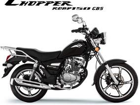 Haojue Chopper 150 Cbs 2018/2019 0 Km Preta