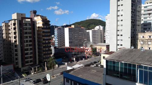 Apartamento Com 1 Dormitório À Venda, 50 M² Por R$ 260.000,00 - Gonzaguinha - São Vicente/sp - Ap0882
