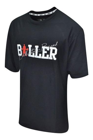 Remera Baller Brand Gammer Negro