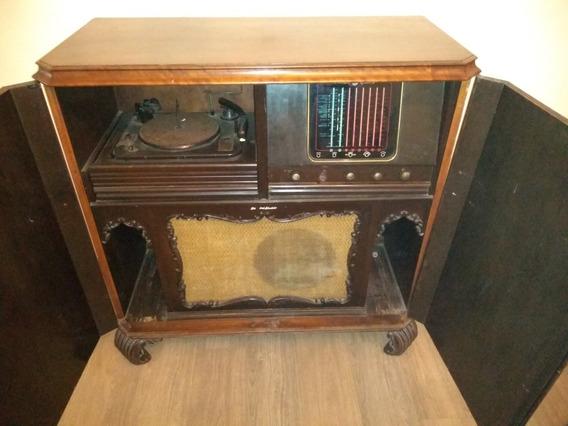 Radio Vitrola General Eletrics Standart, Década De 40