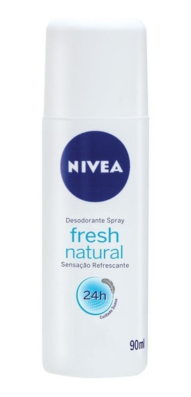 Desodorante Nivea Fresh Natural 24h Spray 90ml