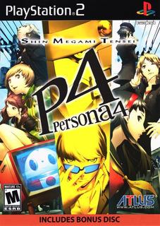 Shin Megami Tensei Persona 4 (w/ Soundtrack Cd) - Ps2