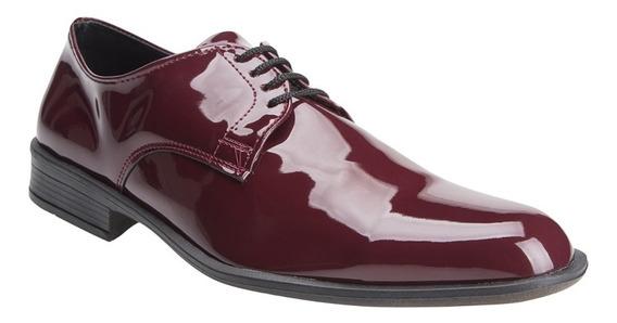 Zapatos Hombre De Vestir Charol Importados Moda Eco Cuero