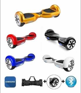 Hoverboard Samsung 6.5 - Skate Elétrico Bluetooth + Bolsa
