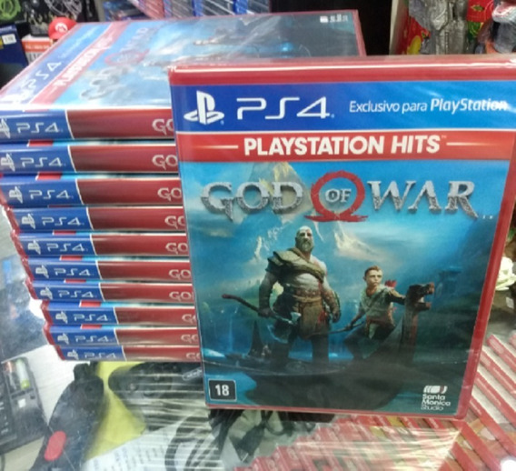 God Of War 4 Ps4 Mídia Física Novo Lacrado Pronta Entrega