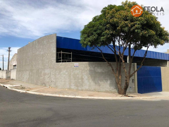 Salão Para Alugar, 290 M² Por R$ 3.500,00/mês - Jardim América - Americana/sp - Sl0311