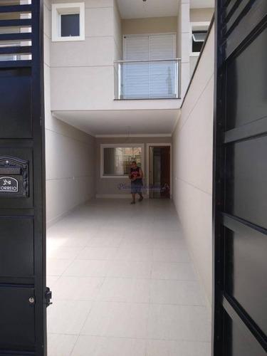 Sobrado Com 3 Dormitórios À Venda, 113 M² Por R$ 650.000,00 - Vila Mazzei - São Paulo/sp - So0248