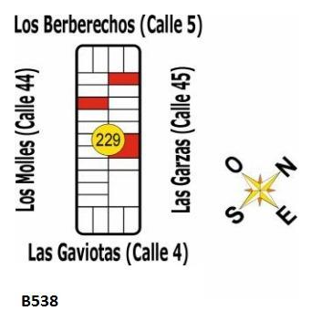 B538 Solares En Uruguay - La Esmeralda - Dpto De Rocha