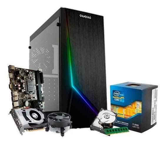 Pc Gamer I7, 16gb, 1tb, Geforce 4gb 1050 Gtx Ti + Nfe